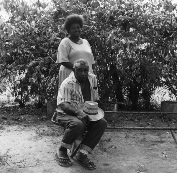 Denise Wapau & Noah Sabbo ('Europah') — Mackay Qld 1990